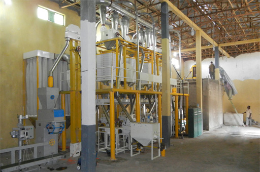 Ethiopia wheat flour mill project