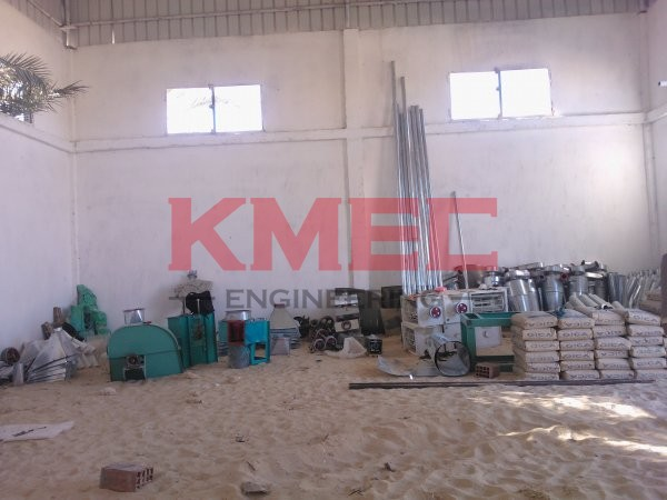 all wheat flour mill equipment on site