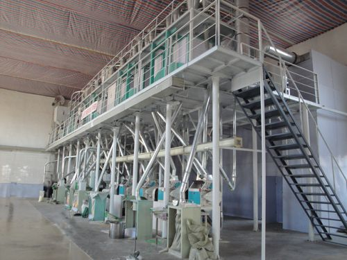 50TPD Wheat Flour Milling Line at Zambia