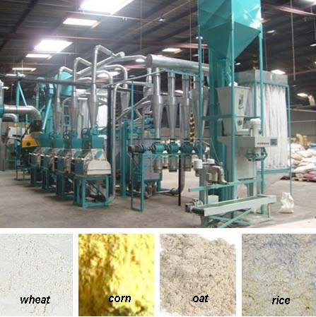 grain flour milling machine