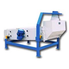 vibrating separator for wheat cleaning