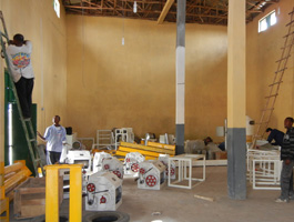 wheat flour mill project machines