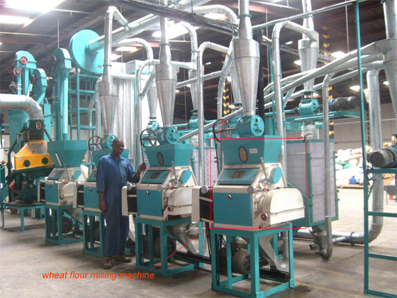 Wheat flour milling machine used in small scale flour mill